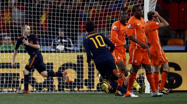 Iniesta fez explodir milhões de espanhóis | Foto: Getty Images