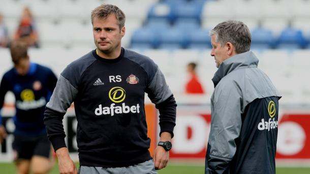 Robbie Stockdale and Paul Bracewell to stay on in their respective roles alongside new manager David Moyes. (Image source: SAFC.com)