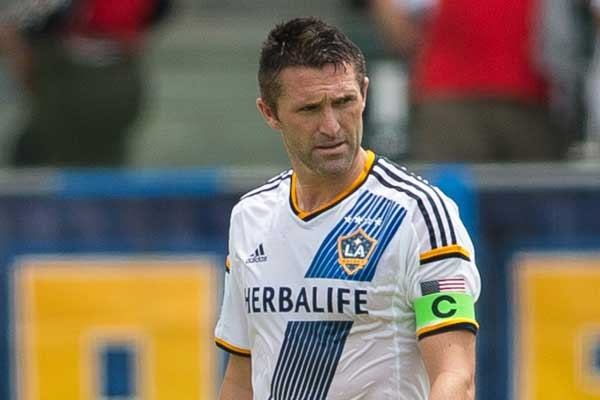 The Los Angeles Galaxy will be without their leader and main goal scorer for possibly five to six games. Photo provided by ISI Photos.