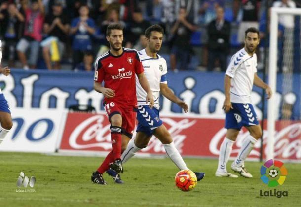 Roberto Torres es el máximo goleador de Osasuna