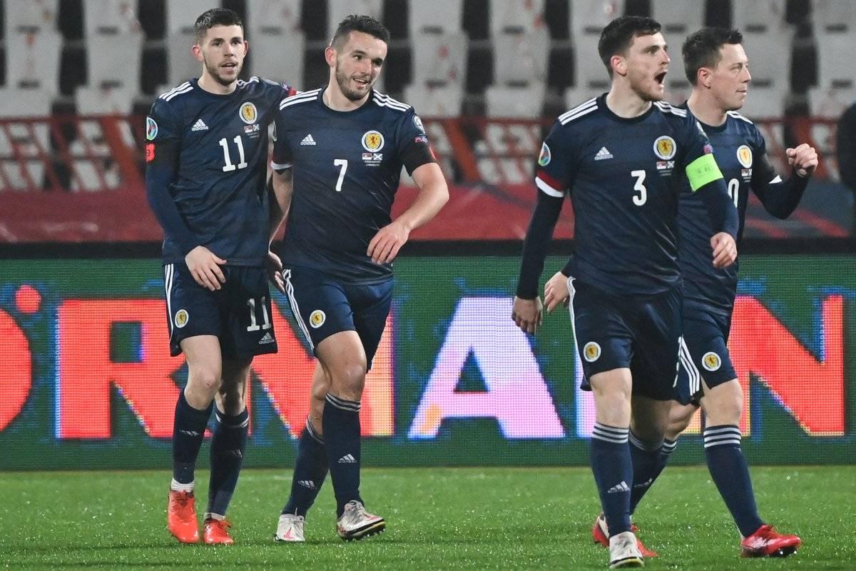 Robertson será el faro que guiará a Escocia / FOTO: EFE