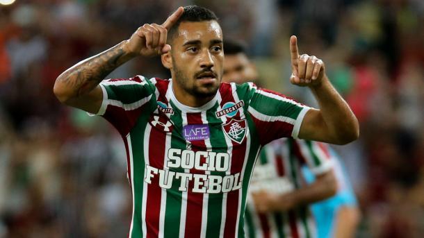 Robinho foi contratado para ser o substituto de Richarlison (Foto: Divulgação/Fluminense)