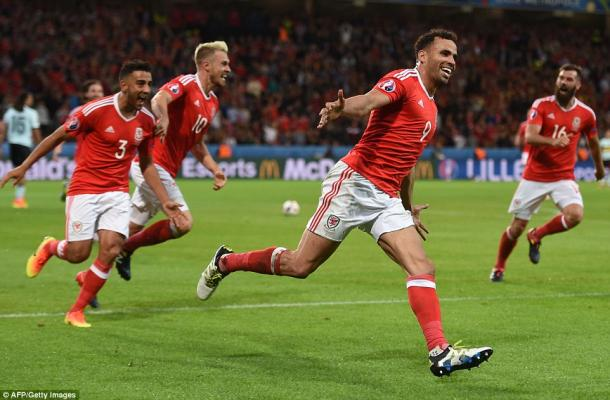 Wales got to the last four by beating Belgium (photo: Getty Images)