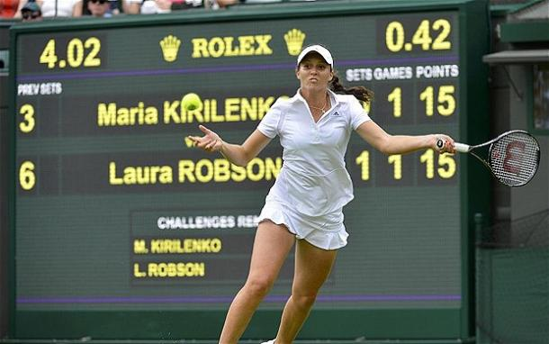 Robson got off to a great start | Photo: the telegraph