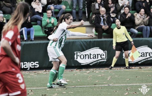 Rocío Gálvez, jugadora del Betis Féminas   Foto: Real Betis Balompié
