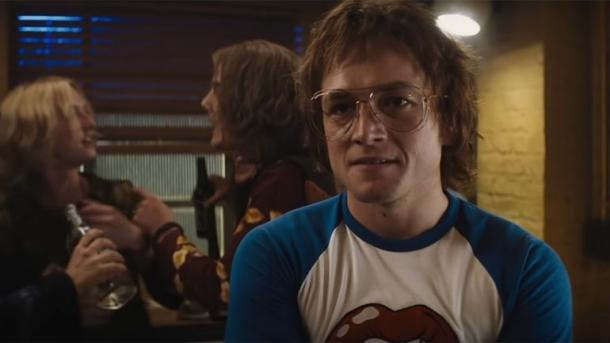 Egerton como Elton John | Fuente: Paramount Pictures