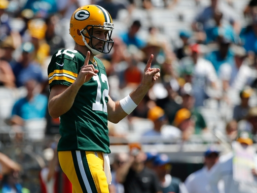 Aaron Rodgers will hope his team can continue their long winning streak on Sunday.   Photo: Kim Klement-USA TODAY Sports