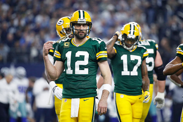 Aaron Rodgers and the Packers need one more win to run the table. | Photo: