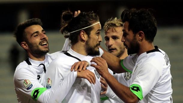 Esulta, Rodriguez, dopo il gol del 2-1 all'Empoli - Foto Vavel