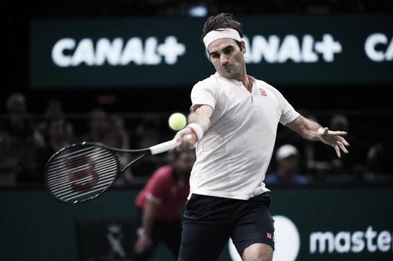 Roger implacable. Imagen: Master 1000 de Paris