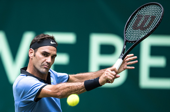 The eight-time champion is finally in his groove on grass (Photo by Lars Baron / Bongarts)
