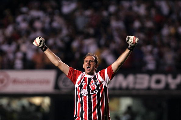 Rogério Ceni jogou a Copinha em 1993 (Foto: Mauricio Lima/AFP)