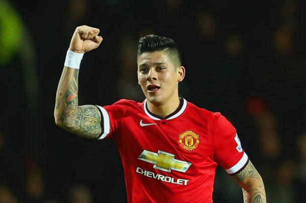 Rojo was used a lot by Louis Van Gaal last season, but this he has so far been used sparingly / Daily Star
