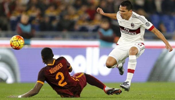 Roma Milan 1-1, corriere.it