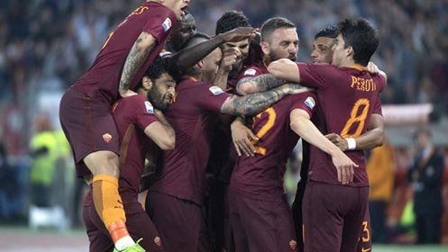 Festa capitolina quando Perotti firma il 3-1 definitivo nel match d'andata fra queste due squadre. | corrieredellosport.it