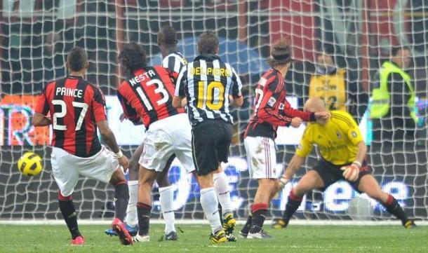 La magnifica rete di Alex Del Piero | Foto: corrieredellosport.it