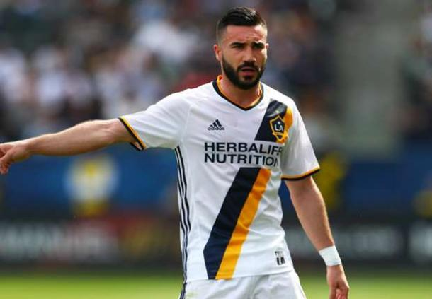 LA's Romain Alessandrini will need to step up on Saturday against the Whitecaps. Photo provided by Mark J. Rebilas/USA TODAY Sports.