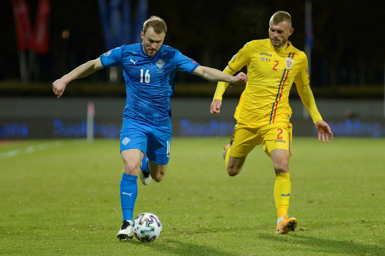 Rumanía cayó frente a Islandia en la repesca de la EURO2021 / FOTO: @hai_romania