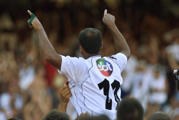 Romário após vitória sobre o São Caetano (Foto: Reprodução/Arquivo Pessoal Romário)
