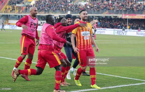 Coda, es el máximo baluarte ofensivo del Benevento  / foto: gettyimages