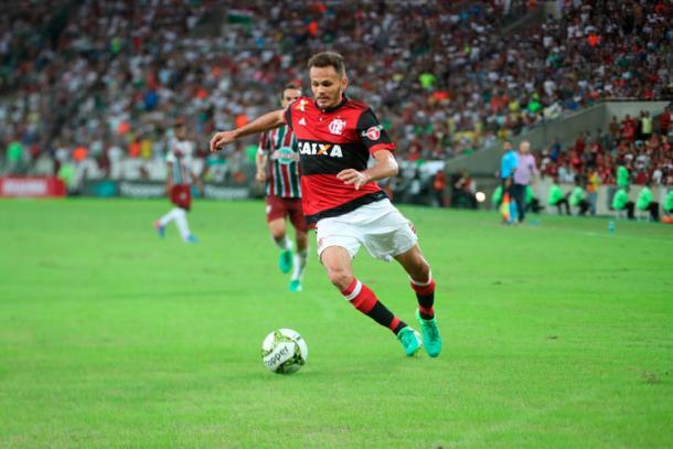 Renê se lesionou em 2017 (Foto: Gilvan de Souza/Flamengo)