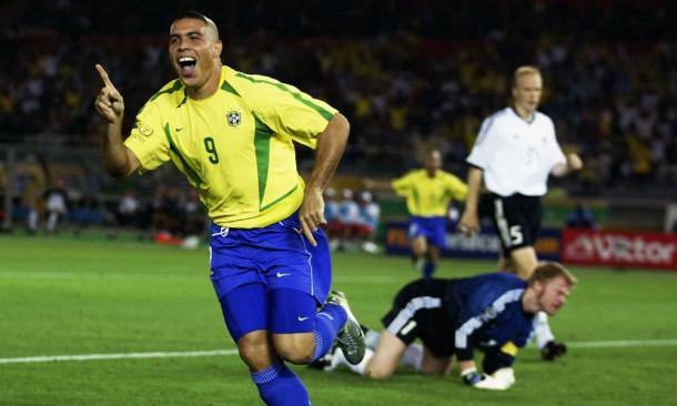 Ronaldo na final da Copa do Mundo 2002 contra a Alemanha (Foto: Reprodução/Fifa)