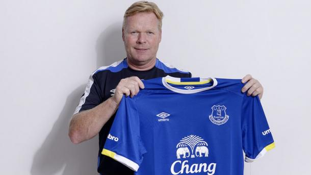 In luring Ronald Koeman from Southampton, the Blues could not have made a more forceful statement. | Photo: Everton