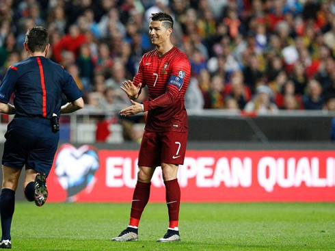 Ronaldo looking to lead Portugal to glory in France. Photo: UEFA