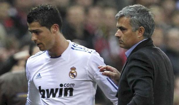 Ronaldo and Mourinho have not always got on well with each other | Photo: Getty