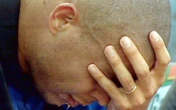 Il pianto di Ronaldo | Foto via www.sport.sky.it