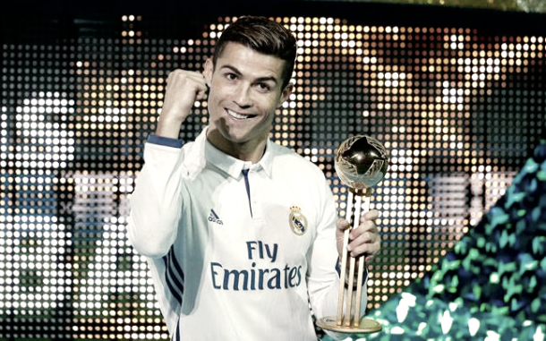 Cristiano Ronaldo nombrado mejor jugador del Mundialito de Clubes | Foto: Twitter Real Madrid