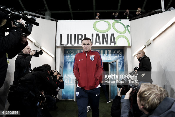 Wayne Rooney needs the support of his home crowd Photo:Gettyimages/Michael Regan -The FA