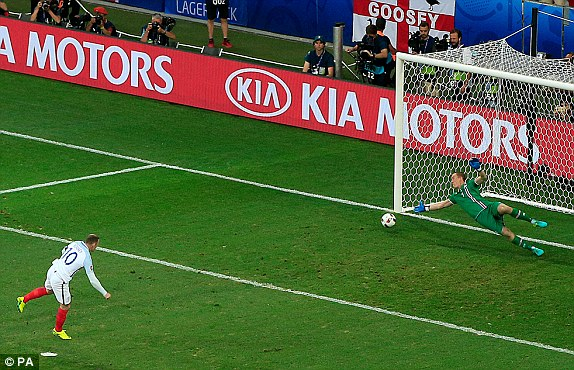Rooney tucked away the opener (photo: PA)