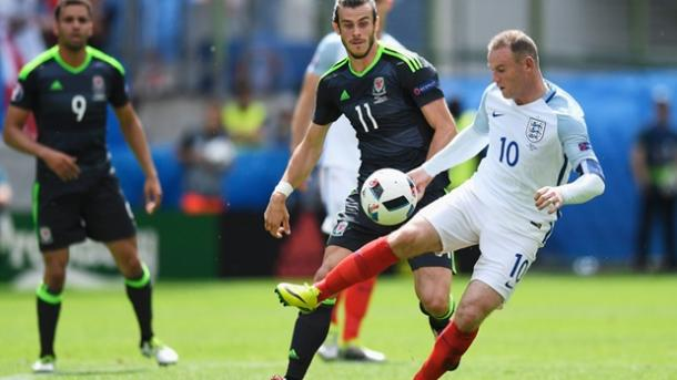 Rooney is reveling in his new role in midfield for England | Photo: Getty