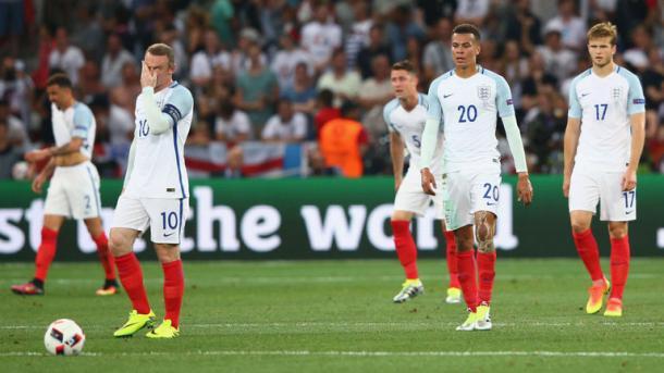 La delusione negli occhi degli inglesi. (fonte immagine: sky sports)
