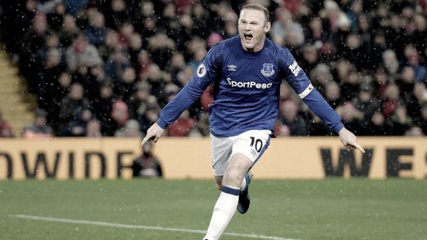 Partido especial para Rooney en el día de hoy./ Foto: Premier League