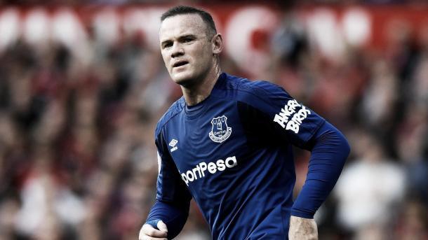 Rooney se volverá a enfrentar al Liverpool con la camiseta del Everton./ Foto: Premier League