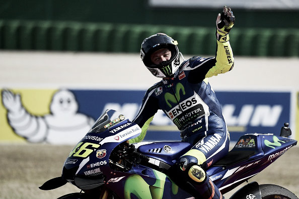 Rossi disapointed not to win, but pleased with second at home GP | Photo: Gabriel Bouys/AFP/Getty Images
