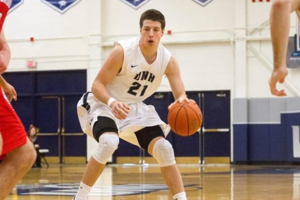 Leissner is a first-team all America-East performer leading UNH/Photo: UNH website