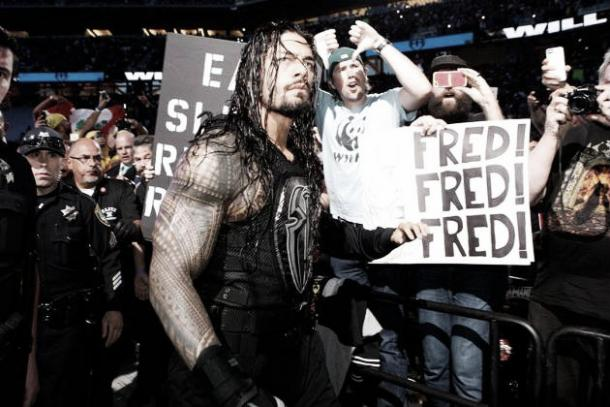 Reigns has not been perceived well by the WWE universe (image: Bleacher Report)