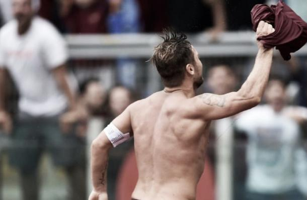 Francesco Totti is 40 years old, you get it? l Photo: Corrieredellosport.it