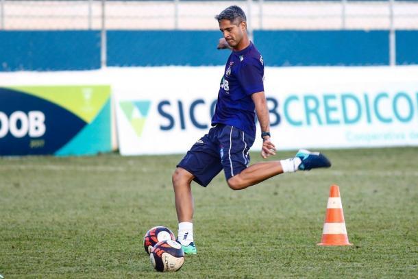 Rodrigo Santana estudou o América para a partida deste domingo (Foto: Lucas Papel/URT)
