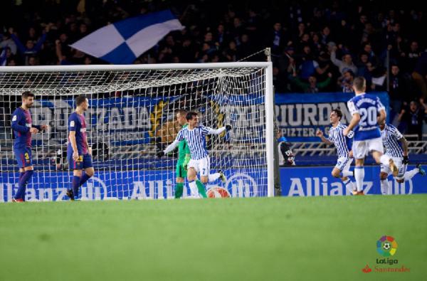 Juanmi será una de las armas realistas en el primer partido del Nuevo Anoeta. | Foto: La Liga
