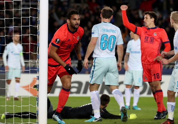 El gol de Willian José no valió para conseguir el primer puesto | Foto: Real Sociedaf