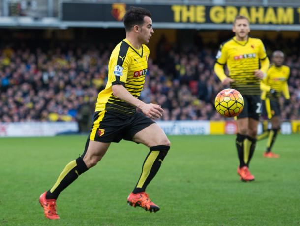 The midfielder made 30 appearances last season for the Hornets (Photo: Getty Images)