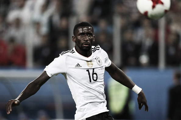 Rüdiger também defender a Seleção Alemã (Foto: Getty Images)