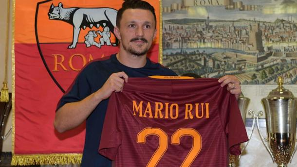 Rui signed for Roma this summer (Photo: itasportpress)