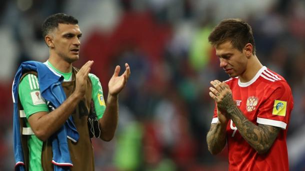 Kokorin en la última Copa Confederaciones que disputó con Rusia I Foto: FIFA