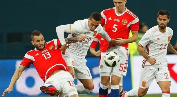 Choque entre Rusia y España (republica.com)