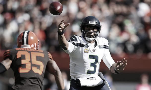 Wilson se acerca cada vez más al primer lugar. Foto: NFL